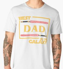 Father's Day Gift Best Dad in Galaxy Men's Premium T-Shirt