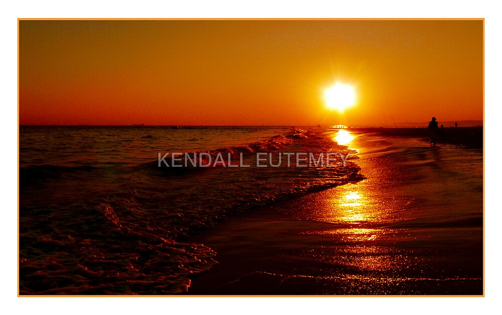 SHADOWS OF SUNSET by KENDALL EUTEMEY