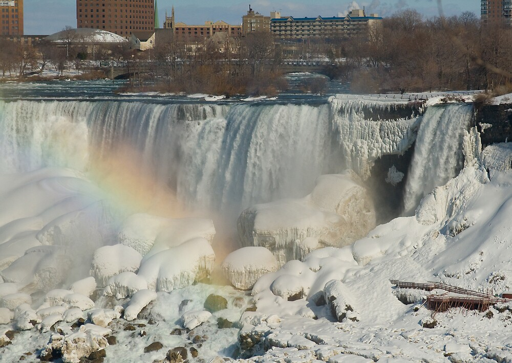 Another Niagara - American Falls by greyrose