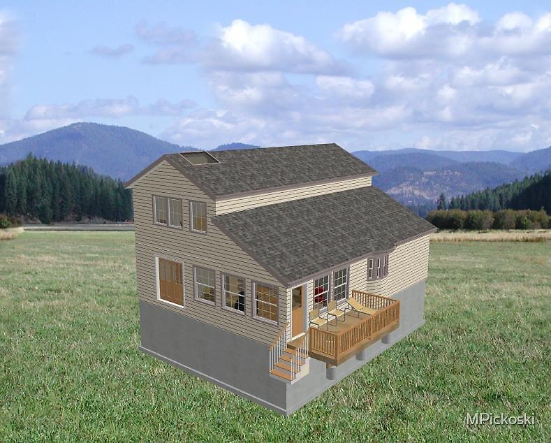 $185,000 house attempt 1 (3-d) by MPickoski