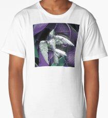 Bird and Ribbon 1 Long T-Shirt
