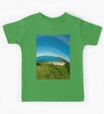 Kinnagoe Bay (as half a planet :-) Kids Tee