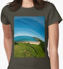 Kinnagoe Bay (as half a planet :-) Women's Fitted T-Shirt