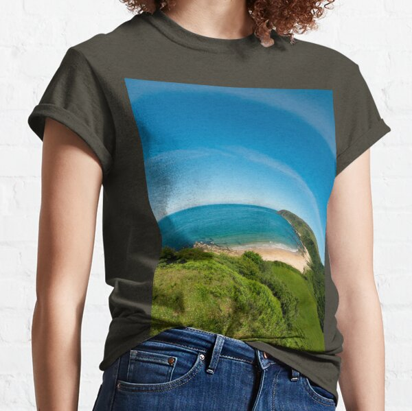 Kinnagoe Bay (as half a planet :-) Classic T-Shirt