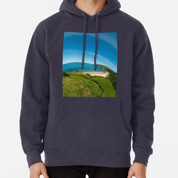 Kinnagoe Bay (as half a planet :-) Pullover Hoodie