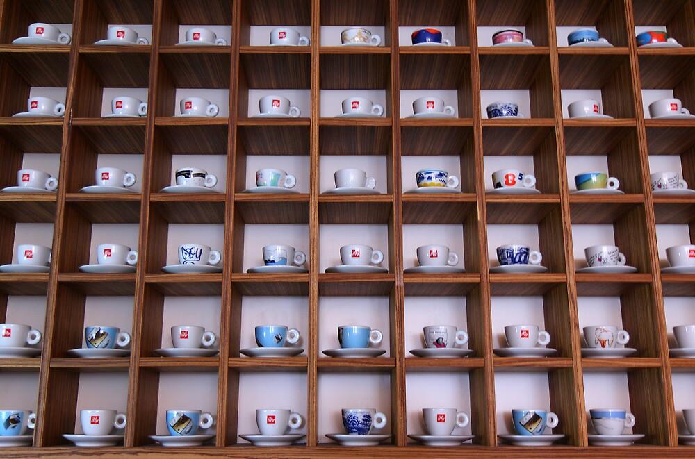 cups by Giuseppe Moscarda