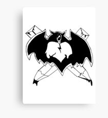 Vampire Hunter Canvas Print