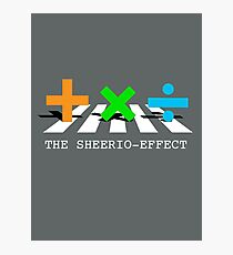 Sheerio-Effect Design Crosswalk Photographic Print