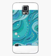 Wish 7 Turquoise and Rose Case/Skin for Samsung Galaxy