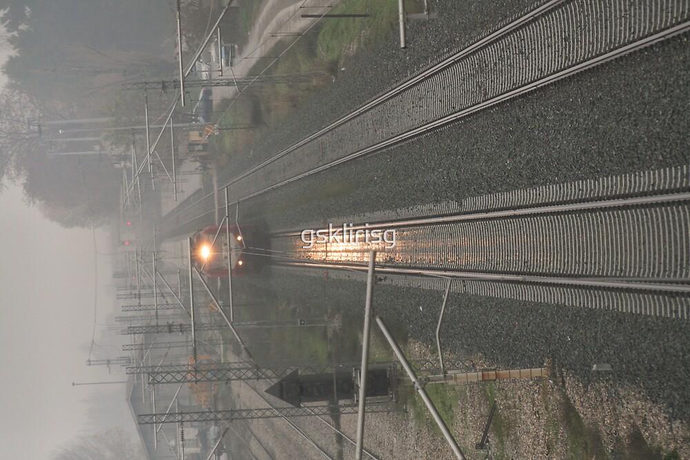 le train est arrivé by gsklirisg