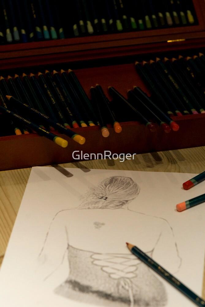 Drawing Francesca by GlennRoger