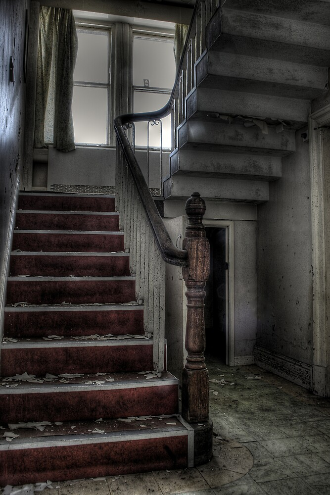 Under the stairs by Richard Shepherd