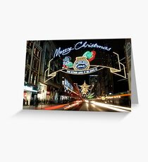 Christmas in London Greeting Card