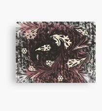 Caught in a snowstorm Canvas Print