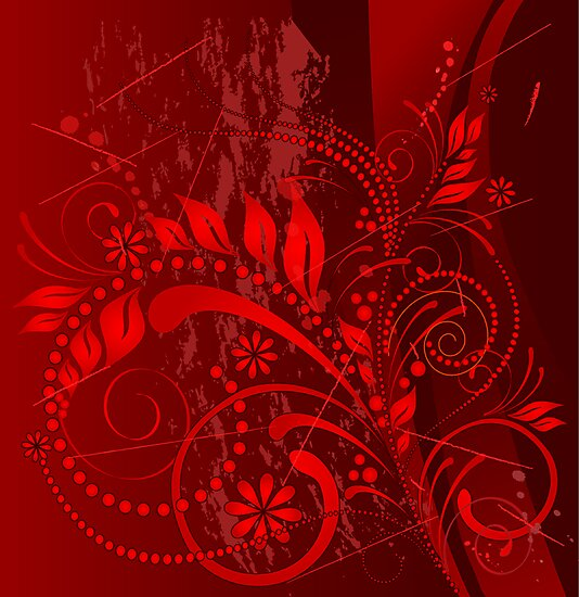 red grunge by VioDeSign
