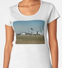 Avalon Airshow-DC-3s & OzJet 737,Australia 2005 Women's Premium T-Shirt