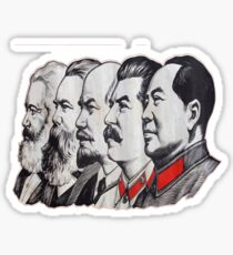 Kommunistische Minds Sticker