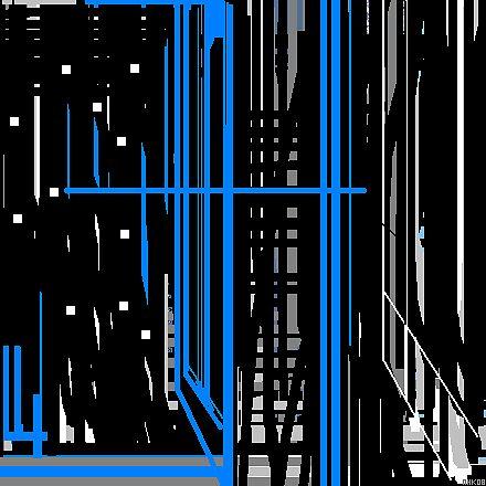 blue line 2 by mhkantor