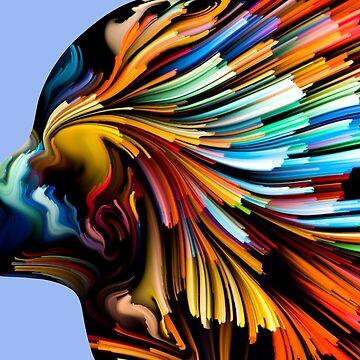 Colour woman by Karapuz