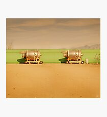 Twin Engines Photographic Print