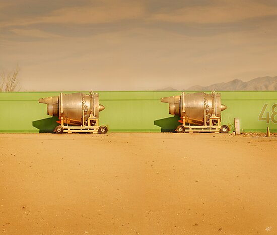 Twin Engines by Paul Vanzella
