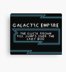 Galactic Empire Canvas Print