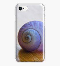 purple sea shell iPhone Case/Skin