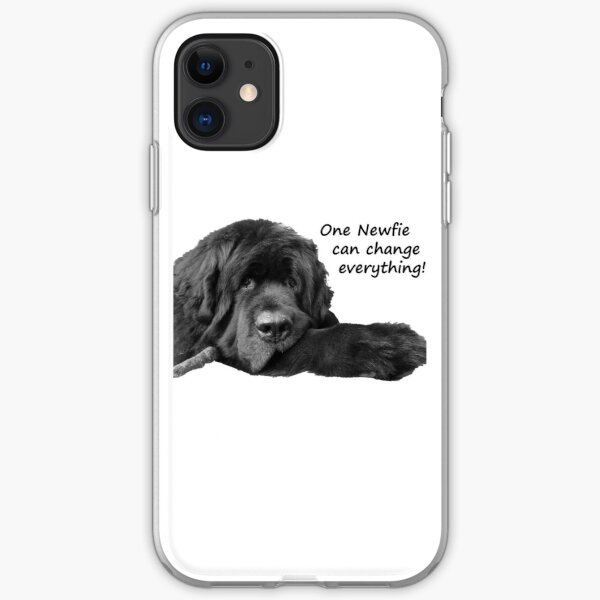 One Newfie Can Change Everything! iPhone Soft Case