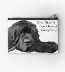 One Newfie Can Change Everything! Studio Pouch