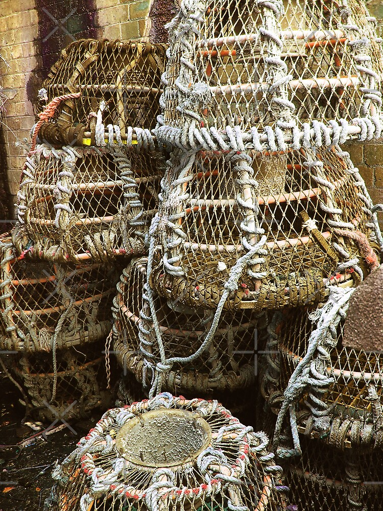Lobster Pots by Catherine Hamilton-Veal  ©