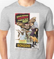 Schizoid - vintage horror movie poster Unisex T-Shirt