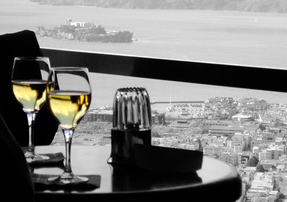 Alcatraz with Wine by Carl Goulding
