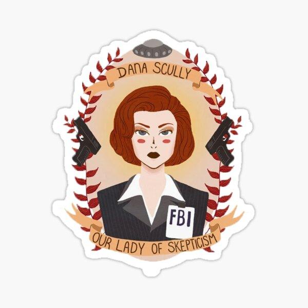 Scully Sticker