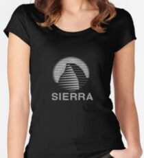 Sierra online Women's Fitted Scoop T-Shirt
