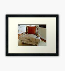 Comfy  Chair       ^ Framed Print