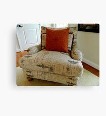 Comfy  Chair       ^ Canvas Print