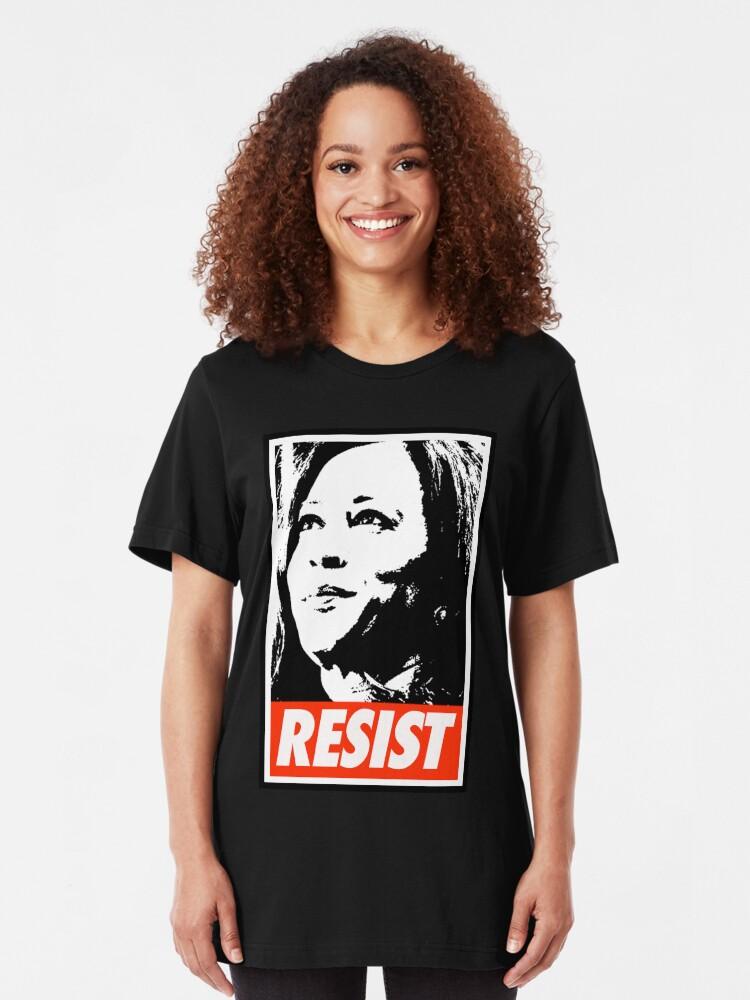Alternate view of KAMALA RESIST Slim Fit T-Shirt