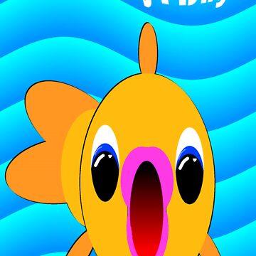 A big wet Birthday kiss! by EddyG