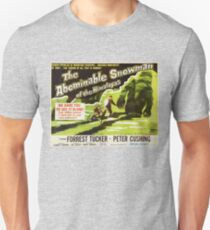 The Abominable Snowman of Himalayas - vintage horror movie poster Unisex T-Shirt