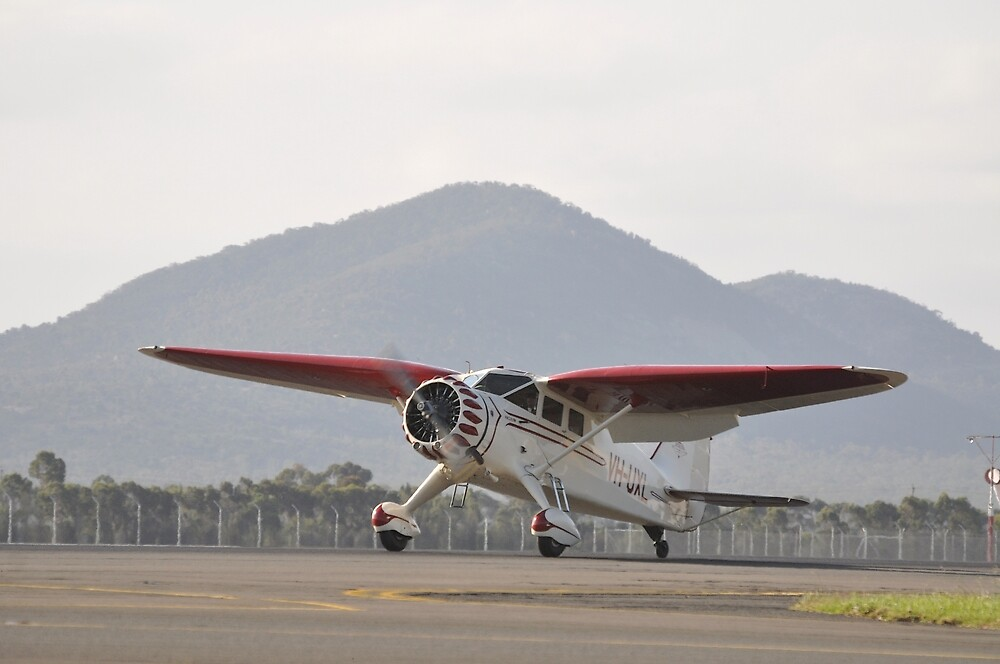 Stinson Reliant,Avalon Airshow,Australia 2015  by muz2142
