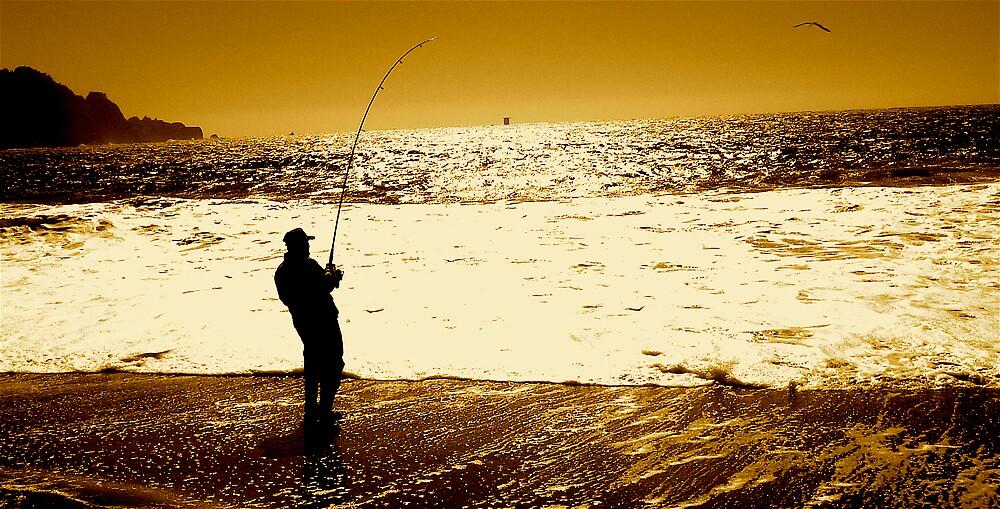 Fisherman by Carl Goulding