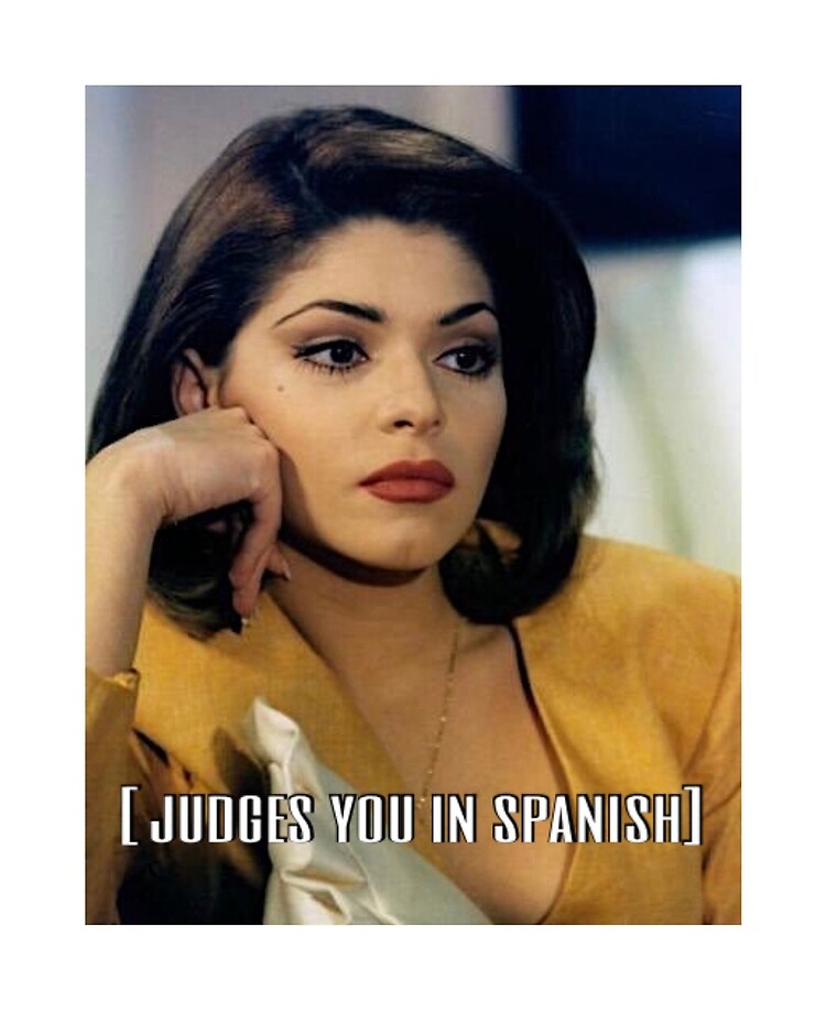 Judges You In Spanish Meme Ipad Case Skin By Mbgxo Redbubble