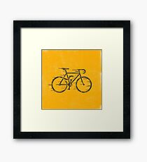 Snake Bike Framed Print