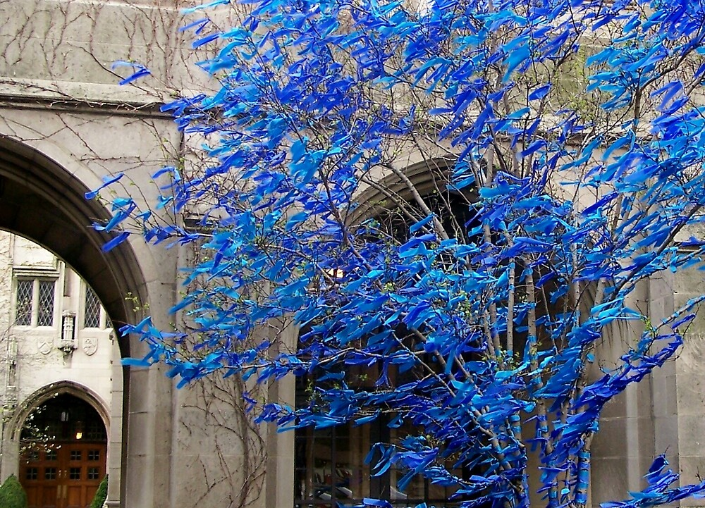 Blue Trees by Carrie Norberg