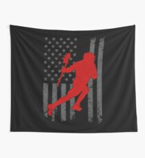 American Lacrosse Shirt Wall Tapestry