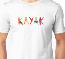 Kayak Graffiti (t-shirt) Unisex T-Shirt
