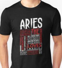 Aries Meaning Shirt T-Shirt