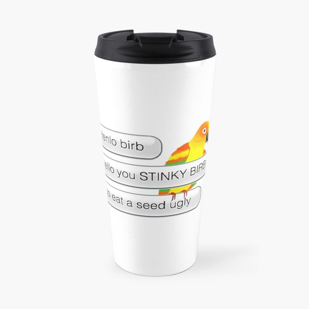 Henlo Birb Travel Mug