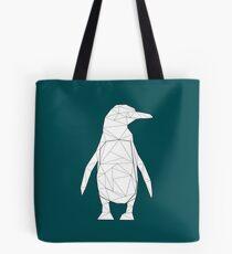 Geometric Penguin Tote Bag