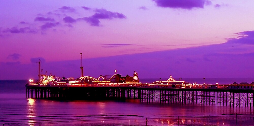 Brighton Marine Palace and Pier. by mariarty